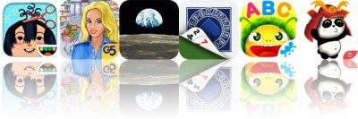 Today's Apps Gone Free: Toca Hair Salon 2, Supermarket Management 2, Moon Map and More