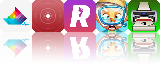 Today's Apps Gone Free: Sea of Squares, InTune, RunCadence and More