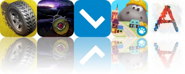 Today's Apps Gone Free: Reckless Racing 3, Help Volty, Cuecard and More
