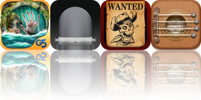 Today's Apps Gone Free: The Cursed Ship, Awesome Voice Recorder, Wanted Poster and More