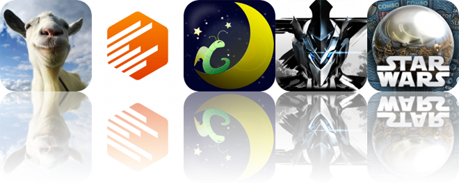Today's Apps Gone Free: Goat Simulator, Context Camera, Sleep Bug and More