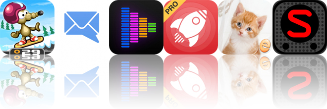 Today's Apps Gone Free: Rat On A Snowboard, MailTime, Equalizer and More