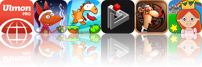 Today's Apps Gone Free: City Maps 2 Go, Little Fox Music Box, Dino Rush and More
