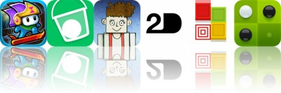 Today's Apps Gone Free: Time Surfer, Drop Flip, Albert and More