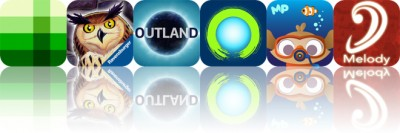 Today's Apps Gone Free: Shades, Whoowasit, Outland and More