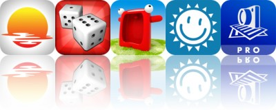 Today's Apps Gone Free: GoldenHour.One, Backgammon, Talking Carl and More