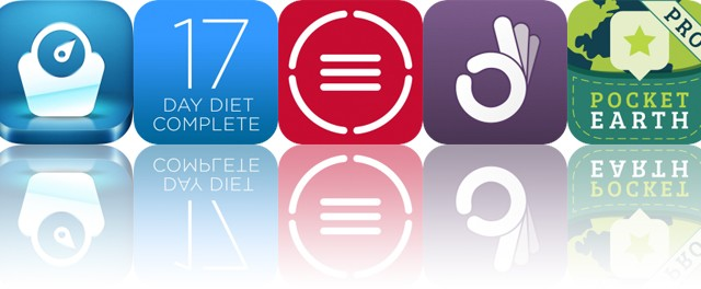 Today's Apps Gone Free: Lose Weight Hypnosis, 17 Day Diet Complete, TextGrabber and More