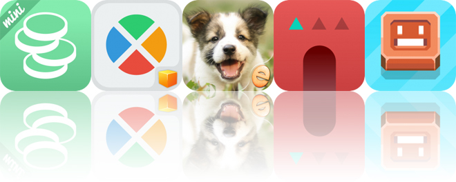 Today's Apps Gone Free: Pennies Mini, Huerons, Jigsaw Wonder Puppies and More