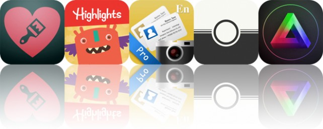 Today's Apps Gone Free: Overpainted, Highlights Monster Day, SamCard and More