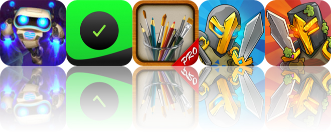Today's Apps Gone Free: Stellar Wars, Work.JOT, MyBrushes and More