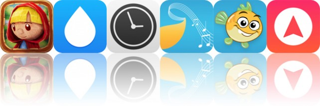 Today's Apps Gone Free: A Day in the Woods, WaterMinder, Work Time and More
