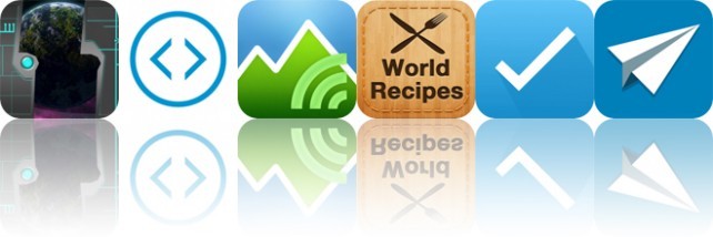 Today's Apps Gone Free: Fractal Space, Change, Terrain Radar and More