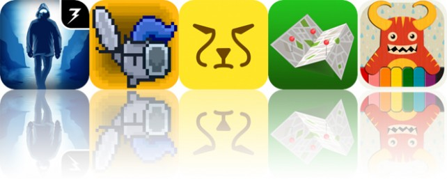 Today's Apps Gone Free: Lifeline: Whiteout, Twitchy Thrones, Cheetah Note and More
