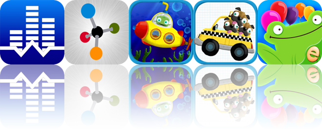 Today's Apps Gone Free: White Noise, Chirys Draw, Tiggly Submarine and More