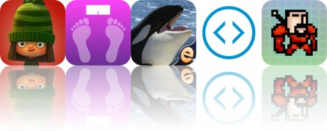 Today's Apps Gone Free: Green Riding Hood, Weight Tracker, Orca Puzzles and More