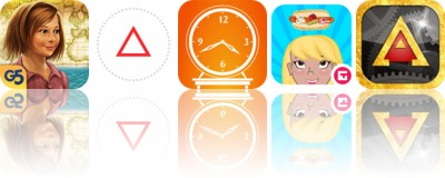 Today's Apps Gone Free: Treasure Seekers, Databit, Big Clock and More