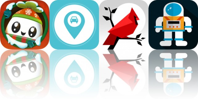 Today's Apps Gone Free: Roofbot, Find My Car, Cardinal Land and More