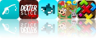 Today's Apps Gone Free: Fuel, Dexter Slice, GridShark and More