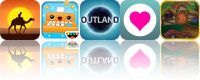Today's Apps Gone Free: The Forgotten Treasure, Toca Store, Outland and More