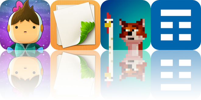 Today's Apps Gone Free: Love You To Bits, Loose Leaf, Fox Eats Chicks and More