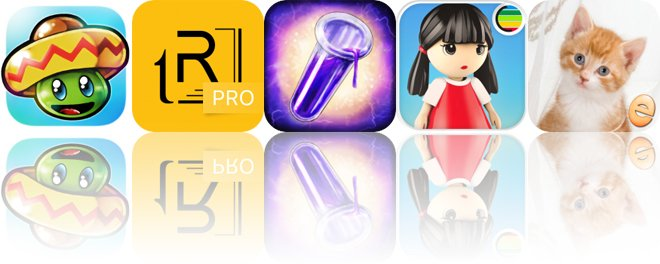 Today's Apps Gone Free: Bean's Quest, tiReader, Jigsaw Wonder Kittens and More