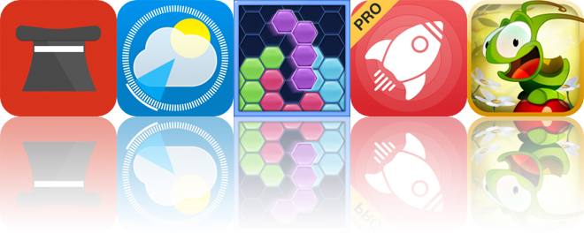 Today's Apps Gone Free: Madhat, StationWeather, Hexus and More