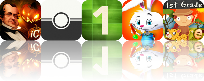 Today's Apps Gone Free: The Interactive Legend of Sleepy Hollow, Feelca B&W, Intro to Math and More