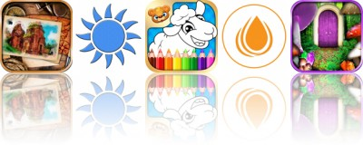 Today's Apps Gone Free: The Lost Fountain, Blue Light Therapy, 123 Kids Fun Coloring Book and More