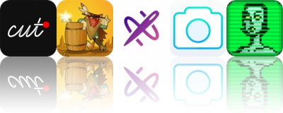 Today's Apps Gone Free: Cut, Gunpowder, Picsew and More