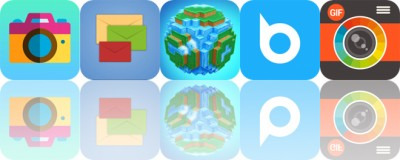 Today's Apps Gone Free: ToonCamera, Envelope, World of Cubes and More
