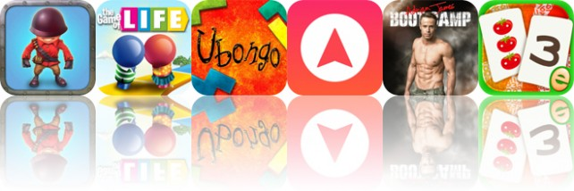 Today's Apps Gone Free: Fieldrunners, The Game of Life, Ubongo and More