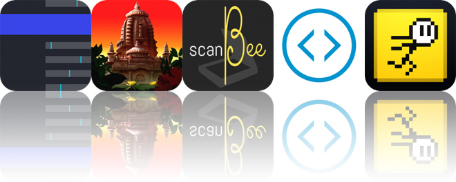 Today's Apps Gone Free: Guitar Tuner, Sea of Giants, ScanBee and More