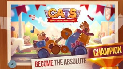 See Hilarious Battles Ensue in CATS: Crash Arena Turbo Stars