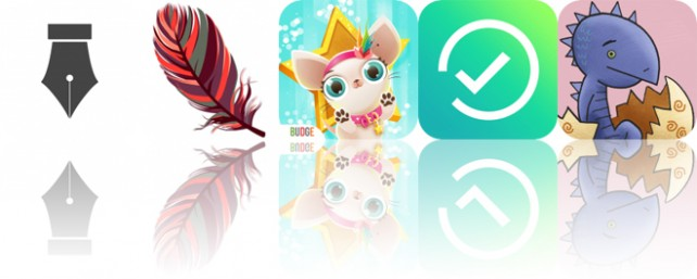 Today's Apps Gone Free: Write, Tahrir, Miss Hollywood: Pugs and Kisses and More