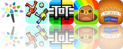 Today's Apps Gone Free: Paintkeep, Soccer Physics, Antonym Match and More