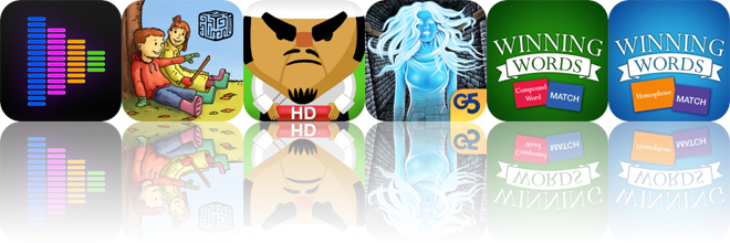 Today's Apps Gone Free: Equalizer, Hanna and Henri, Tabata and More