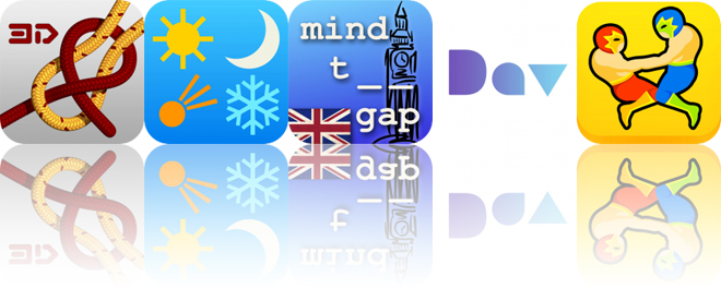 Today's Apps Gone Free: Knots 3D, American Almanac, Mind the Gap and More