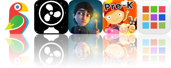Today's Apps Gone Free: Brushstroke, Deep Sleep Fan, Weirdwood Manor and More