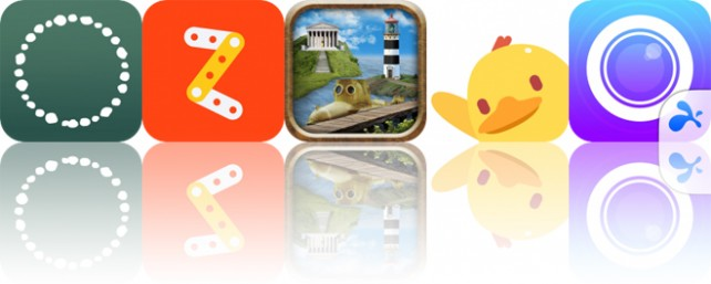 Today's Apps Gone Free: Cook + Cure, Zip-Zap, The Enchanted Books and More