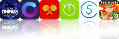 Today's Apps Gone Free: Onirim, Oilist, Salsa Rhythm and More
