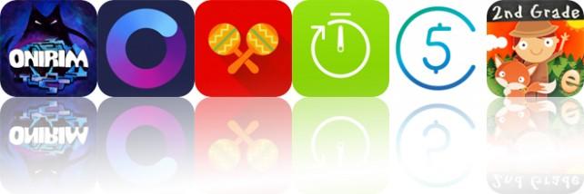 Today's Apps Gone Free: Onirim, Oilist, Salsa Rhythm and More