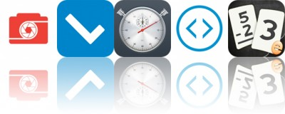 Today's Apps Gone Free: CameraPixels, Cuecard, Stopwatch and More