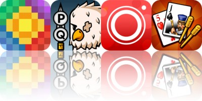 Today's Apps Gone Free: Breezeblox, Puzzlewood Quests, Bokeh Lens and More
