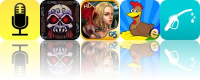 Today's Apps Gone Free: Audio Notebook, Wicked lair, Game of Dragons and More