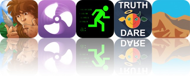 Today's Apps Gone Free: Dawn of Crafting, Sleepy Fan, Hack RUN and More