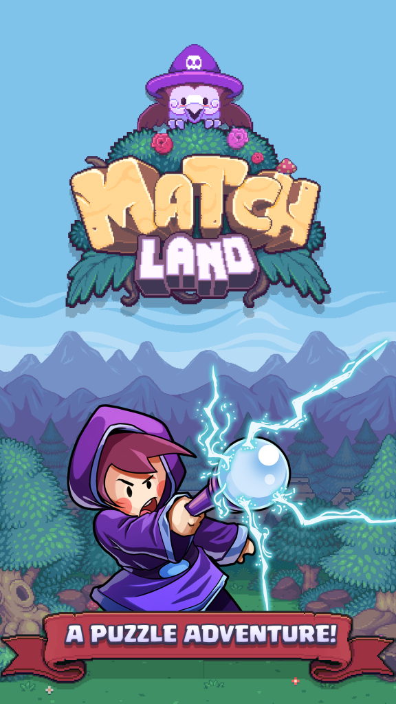 Fight Critters and Collect Heroes in Match Land