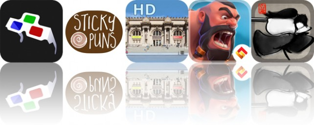 Today's Apps Gone Free: The Fourth Dimension, Sticky Puns, Metropolitan and More