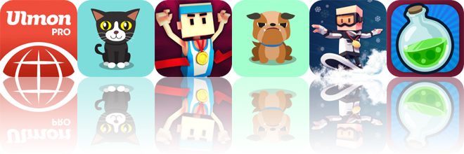 Today's Apps Gone Free: CityMaps2Go, Mojicat, Flick Champions Summer Sports and More
