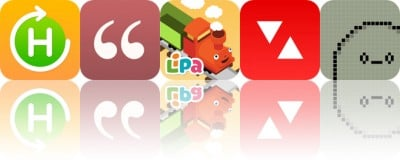 Today's Apps Gone Free: Daily Habits, Notable Quotes, Lipa Train and More
