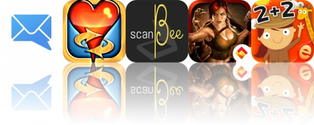 Today's Apps Gone Free: MailTime, Hearts Tournament, ScanBee and More